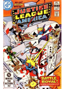 Комикс 1982-07 Justice League of America 204