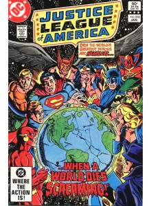 Комикс 1983-01 Justice League of America 210
