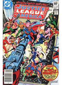 Комикс 1983-09 Justice League of America 218