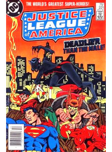 Комикс 1983-12 Justice League of America 221
