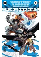 Комикс 2017-04 Justice League of America Rebirth 1 Variant Cover