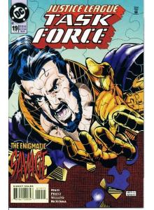 Комикс 1995-01 Justice League Task Force 19