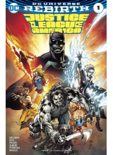 Комикс 2016-09 Justice League 1 REBIRTH Variant Cover