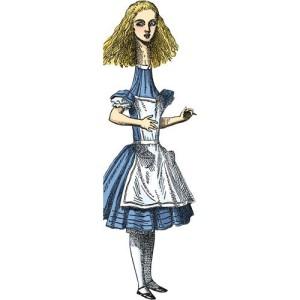 Поздравителна картичка и стикери – Алиса