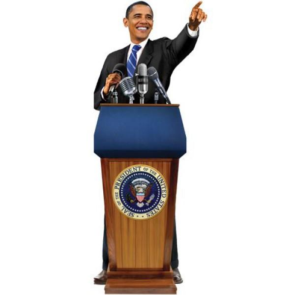 Unemployed Philosophers Guild - Поздравителна картичка и стикери – Барак Обама 1