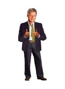 Поздравителна картичка и стикери – Бил Клинтън