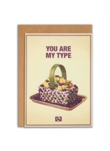 Еко Поздравителна Картичка You Are My Type