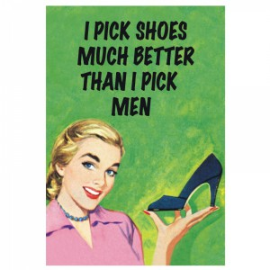 Card | I pick shoes