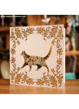 Поздравиелна Картичка Котка