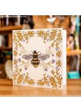 Поздравиелна Картичка Пчела