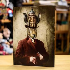 Поздравителна Картичка Adrian Higgins Bodleian Here