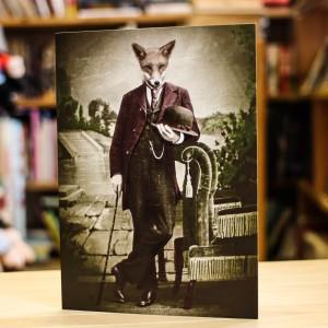 Поздравителна Картичка Adrian Higgins Dapper Fox