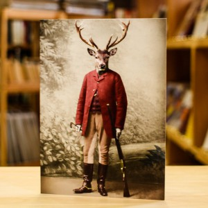 Greeting Card Adrian Higgins Hunter and The Hunted