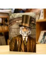 Поздравителна Картичка Adrian Higgins Tiger