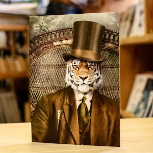 Greeting Card Adrian Higgins Tiger