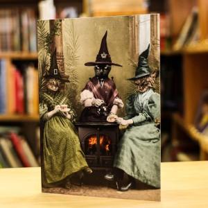 Поздравителна Картичка Adrian Higgins Witches Brew