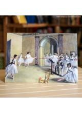 Поздравителна Картичка Ballet The Dance Degas