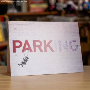 Greeting Card Banksy Parking