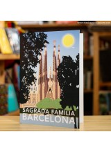 Поздравителна Картичка Barcelona