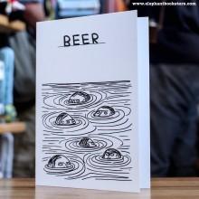 Поздравителна Картичка Beers Swimmers