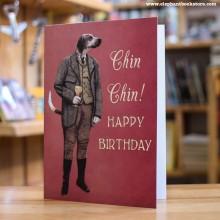 Поздравителна Картичка Chin Chin