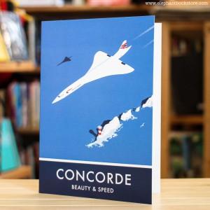 Поздравителна Картичка Concorde Planes