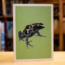 Поздравителна Картичка Dart Frog