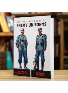 Поздравителна Картичка Enemy Uniforms