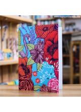Поздравителна Картичка Flamingo and Flowers