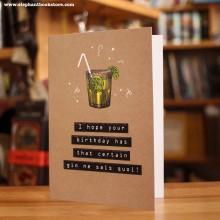 Поздравителна Картичка Gin Ne Sais Quoi