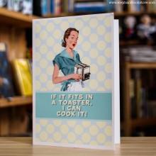 Поздравителна Картичка I Can Cook It