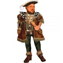 Поздравителна картичка и стикери Хенри VIII