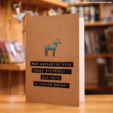 Поздравителна Картичка Little Horse