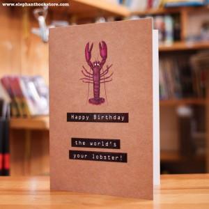 Greeting Card Lobster