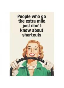 Поздравителна картичка | People Who Go The Extra Mile