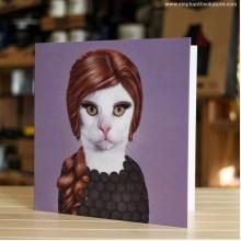 Поздравителна картичка Pets Rock Adele