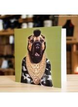 Поздравителна Картичка Pets Rock T Fool