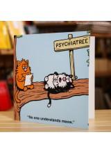 Поздравителна Картичка Psychiatree
