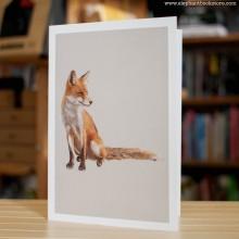 Поздравителна Картичка Red Fox