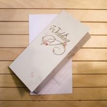 Поздравителна Картичка с Джоб за Пари Wedding