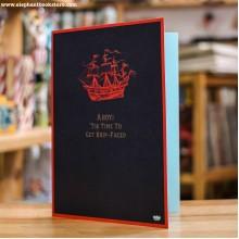 Поздравителна Картичка Ship Faced