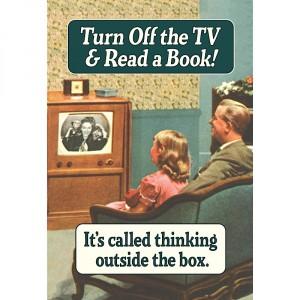 Поздравителна картичка | Turn Off The TV