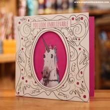 Поздравителна Картичка Unicorn