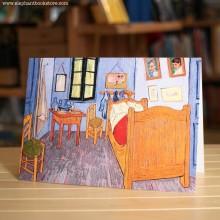 Поздравителна Картичка Vincent's Bed