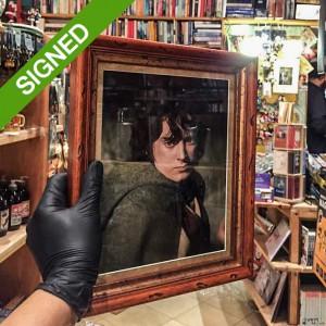 Подписана Фотография Илайджа Ууд Фродо Властелинът на Пръстените