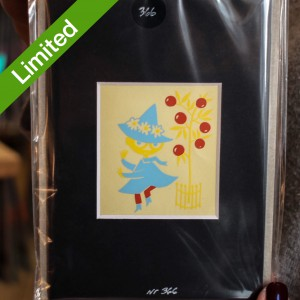 Authentic Limited Print N366 Tove Jansson Sniff