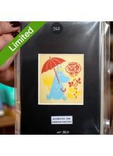 Автентичен Лимитиран Принт N367 от Туве Янсон Госпожица Снорк