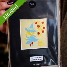 Автентичен Лимитиран Принт N367 от Туве Янсон Сниф