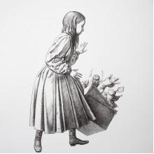 Графика Ясен Гюзелев Алиса в Страната на Чудесата Гл. XII L4