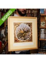 Подписан Принт Terry Pratchett A View of Lancre